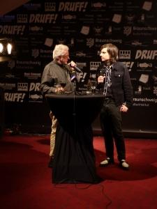 Hugh Hudson (links) beim Q&A