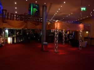 Cinestrange-Schriftzug im C1, Braunschweig