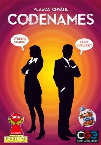 "Cover des Spiels ""Codenames"""