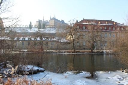 Blick auf die Bergstadt und das Kloster St. Michael © Doreen Matthei