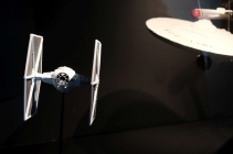 """Star Wars"" und ""Star Trek""-Modelle © Michael Kaltenecker"