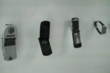 Sci-Fi-Mobiltelefone © Michael Kaltenecker