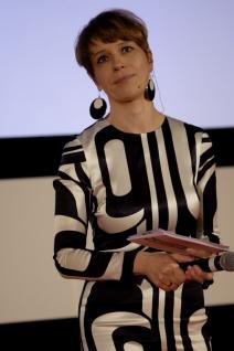 Moderatorin der Eröffnungsveranstaltung Jenny Zylka