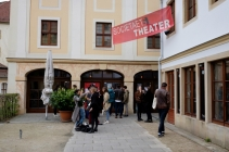 In diesem Jahr war auch wieder das Societätstheater Spielort und Treffpunkt für das Filmfest Dresden