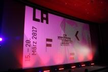 Im großen Saal des Kinopolis wurde das Landshuter Kurzfilmfestival eröffnet