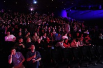 Im großen Saal fanden alle Besucher Platz bei der Eröffnung