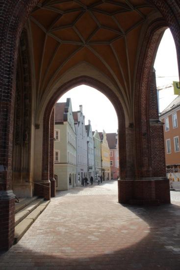 Der Blick von der Heilig-Geist-Kirche auf die Altstadt