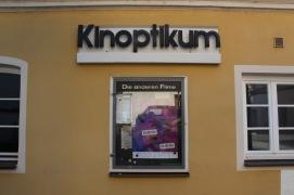 Das unauffällige Programmkino Kinoptikum war die dritte Spielstätte neben Kinopolis und Salzstadel