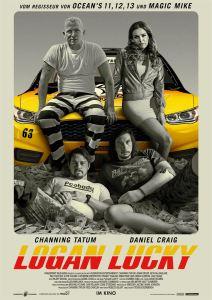 """Poster zum Film """"Logan Lucky"""" (2017)"""