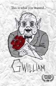 """Poster zum Kurzfilm """"Gwilliam"""""""