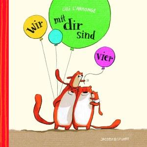"""Cover des Kinderbuches """"Wir mit Dir sind vier"""""""