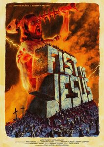 "Poster des Kurzfilms ""Fist of Jesus"""