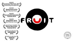 "Poster zum Kurzfilm ""Fruit"""