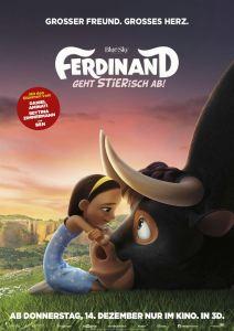 """Poster zum Film """"Ferdinand - Geht STIERisch ab"""""""