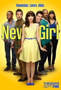 "Poster zur Staffel 1 der Serie ""New Girl"""