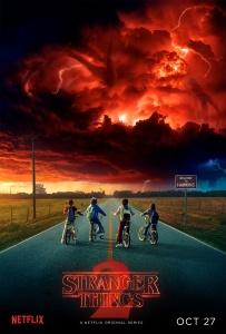 """Poster zur zweiten Staffel der Serie """"Stranger Things"""""""