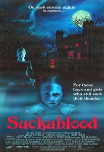 """Poster zum Kurzfilm """"Suckablood"""""""