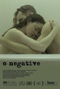 "Poster zum Kurzfilm ""0 Negative"""