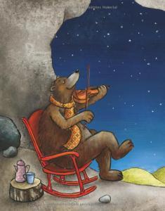 """Ausschnitt aus dem Kinderbuch """"Keine Zeit für Murmelbär"""""""