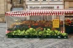 Marktstand in Bamberg