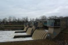 Schleuse am Kanal