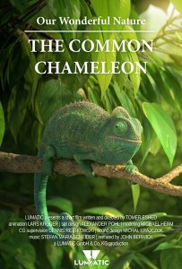 "Poster zum Kurzfilm ""Our Wonderful Nature - The Common Chameleon"""