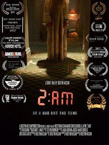 "Poster zum Kurzfilm ""2 AM"""