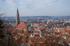 Ausblick auf Landshut