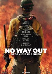 """Poster zum Film """"No Way Out - Gegen die Flammen"""""""
