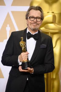 Gary Oldman in the Oscars 2018 Press Room