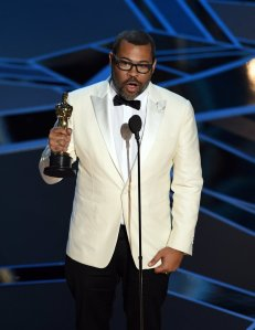 Jordan Peele accepts Best Original Screenplay for 'Get Out'