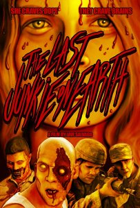 "Poster des Kurzfilms ""The Last Junkie on Earth"""
