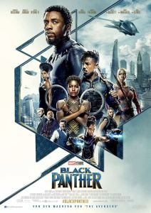 "Poster zum Film ""Black Panther"""