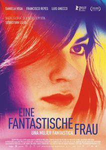 """Poster zum Film """"Eine fantastische Frau"""""""