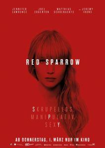 """Poster zum Film """"Red Sparrow"""""""