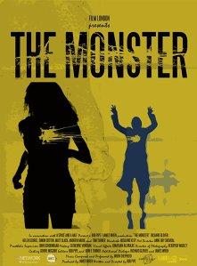 """Poster zum Kurzfilm """"The Monster"""""""