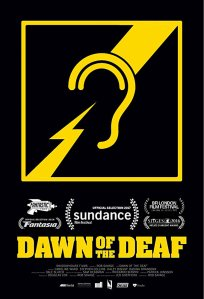 "Poster des Kurzfilms ""Dawn of the Deaf"""