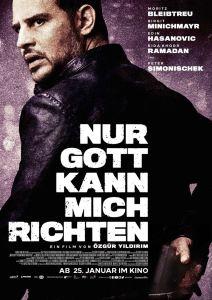 """Poster zum Film """"Nur Gott kann mich richten"""""""