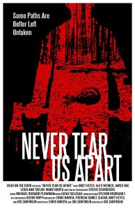 "Poster des Kurzfilms ""Never tear us apart"""