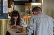 Filmemacher in der Schauburg (Sarina Nihei und Andreas Retzlaff)