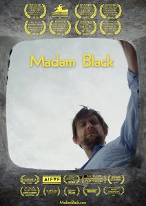 "Poster des Kurzfilms ""Madam Black"""